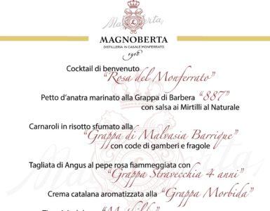 La Cena della Grappa Magnoberta