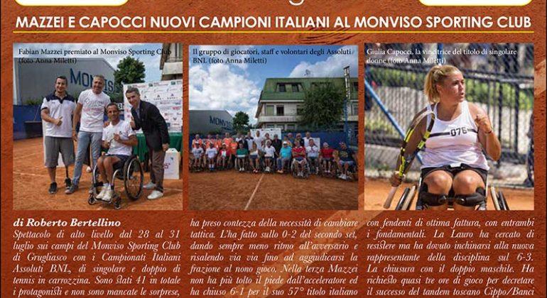 Anche la 'Cano' sul nuovo numero di Tennis Web Magazine
