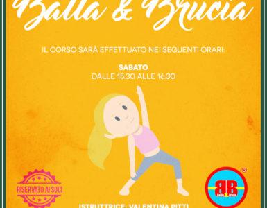 IL CORSO DI BALLA & BRUCIA