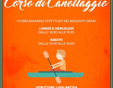 I CORSI DI CANOTTAGGIO