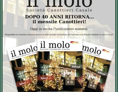 'IL MOLO' DI DICEMBRE E' ONLINE!