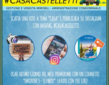 #CASACASTELLETTI: IL NUOVO CONTEST FOTOGRAFICO