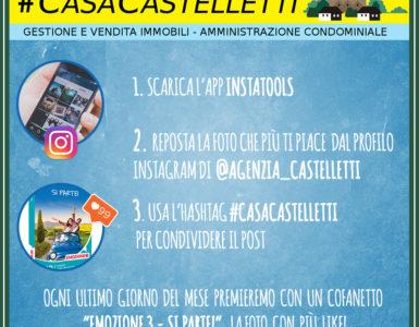 #CASACASTELLETTI: REPOSTA LA CASA DEI TUOI SOGNI!