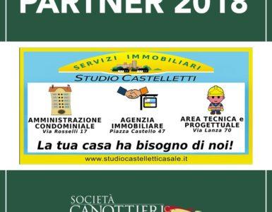STUDIO CASTELLETTI FRIEND PARTNER ANCHE NEL 2018