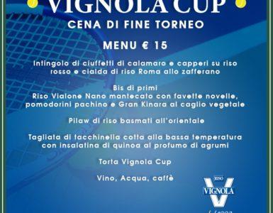VIGNOLA CUP, LA CENA FINALE