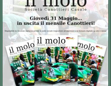 'IL MOLO' ESCE GIOVEDI' 31 MAGGIO!