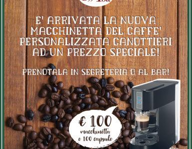 CAFFE' POLI PRESENTA LA NUOVA MACCHINA DA CAFFE' CANOTTIERI