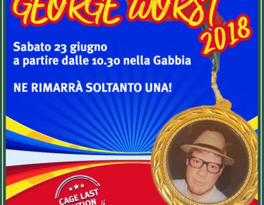 GEORGE WORST 2018, SABATO 23 GIUGNO