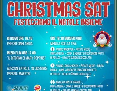 CHRISTMAS SAT, VENERDI' 21 DICEMBRE