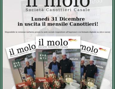 'IL MOLO' ESCE LUNEDI' 31 DICEMBRE