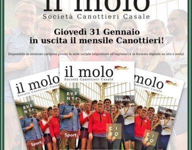 GIOVEDI' 31 GENNAIO ESCE 'IL MOLO'