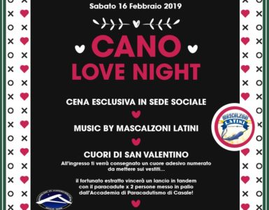 RITORNA LA CANO LOVE NIGHT!