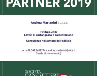 ANDREA MARIANINI RINNOVA COME FRIEND PARTNER