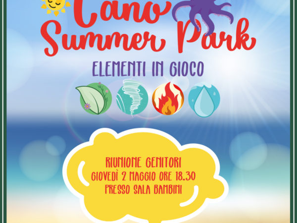 Cano Summer Park IG - riunione