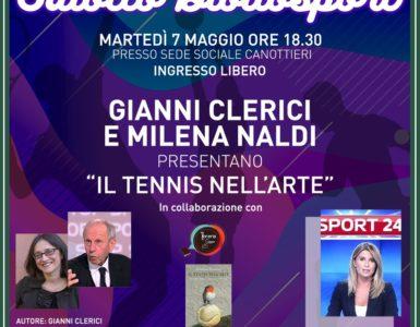 MARTEDI' 7 MAGGIO, 'IL TENNIS NELL'ARTE'