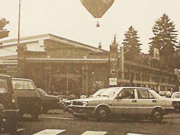 Festa sul Po - partenza della mongolfiera.