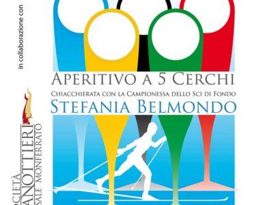 'Aperitivo a 5 cerchi' con Stefania Belmondo