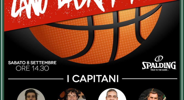 CANO BASKET TIME BY SPALDING, I CAPITANI