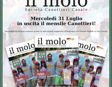 'IL MOLO' DI LUGLIO IN USCITA MERCOLEDI' 31