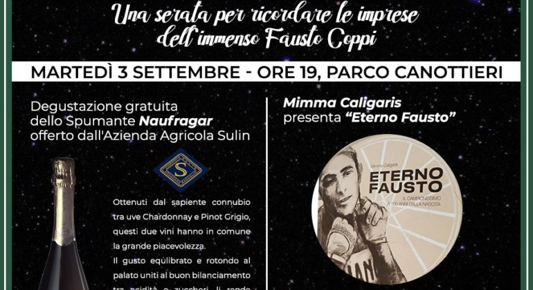 'BIKE & WINE' PER CELEBRARE L' 'ETERNO FAUSTO'