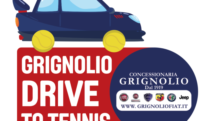 GRIGNOLIO DRIVE TO TENNIS, THE BACKSTAGE
