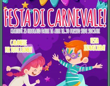 CARNEVALE, SI FA FESTA!