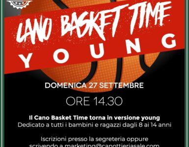 "CANO BASKET TIME ""YOUNG"""