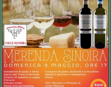 MERENDA SINOIRA 16 MAGGIO