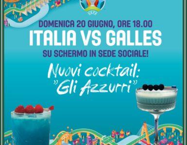 """""""GLI AZZURRI"""" NUOVI COCKTAIL PER ITALIA-GALLES"""